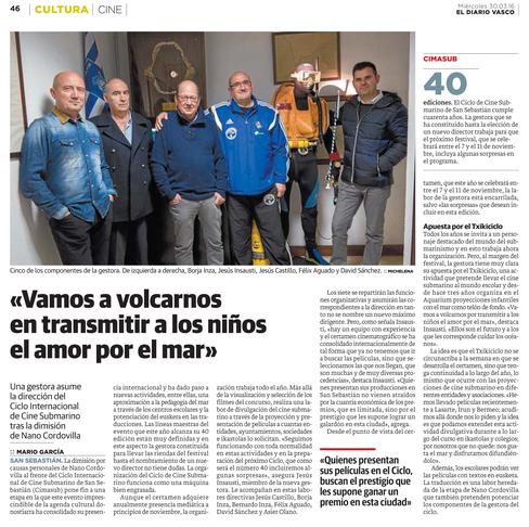 CIMASUB diario vasco