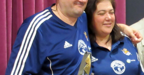Felix Aguado y su mujer Teresa Santos